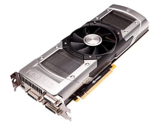 Видеокарта NVIDIA GeForce GTX 690